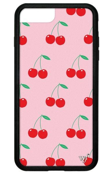 Iphone Casing Flower Cammomile White Black 6 7 pink cherries iphone 6 7 8 plus wildflower cases