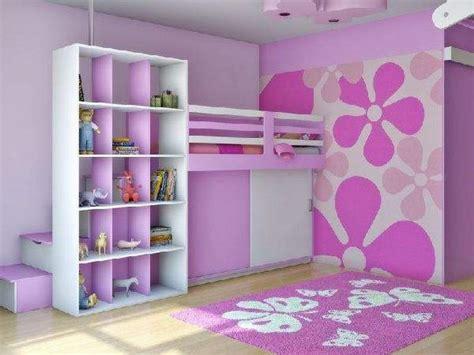 Kids bedroom pink minimalist