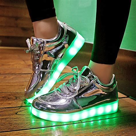 lighted shoes for aliexpress buy 2016 shining 11 colors luminous sport
