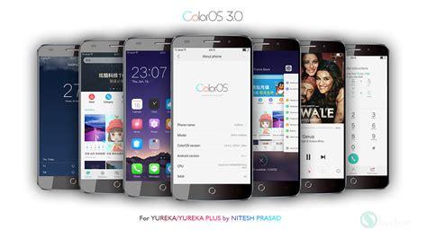 hd themes for yureka rom coloros 3 0 beta for yureka and yureka plus