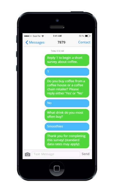 mobile sms sms survey software insightrix research
