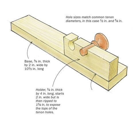 free woodworking jigs jig trims knobs and slots them for wedges finewoodworking
