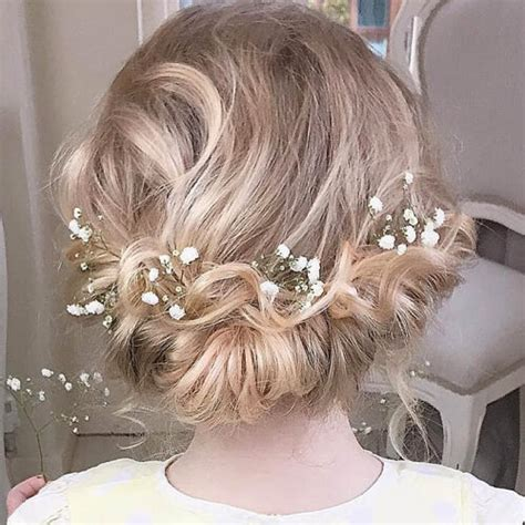 Wedding Hairstyles For Junior Bridesmaids by Junior Bridesmaid Hairstyles Hairstyles