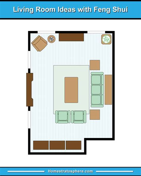 feng shui living room rules colors   layout diagrams