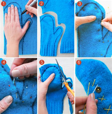 how to make sweaters repurposing sweaters 10 cool things to make this winter