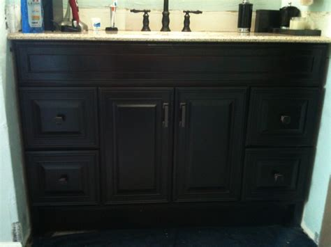 Java Stain Kitchen Cabinets by Bath Remodel Oil Rubbed Bronze Look Contemporary