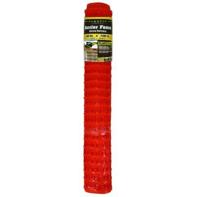 hdx 4 ft x 100 ft orange barrier fence 889210hd the