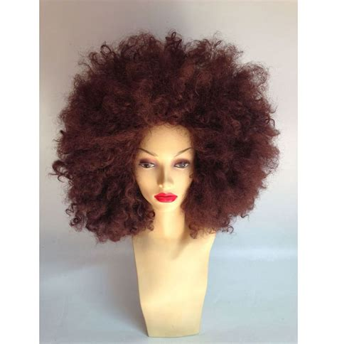 how to style costume wigs extra large brown afro wig fashion wigs star style wigs