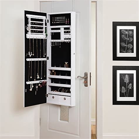 white over the door jewelry armoire white over the door jewelry armoire 28 images new view