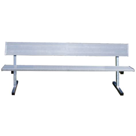 team bench aluminum team benches with back schoolsin