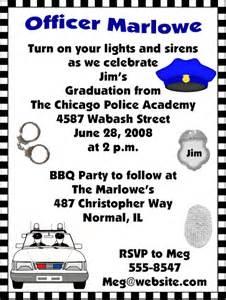 academy graduation invitations