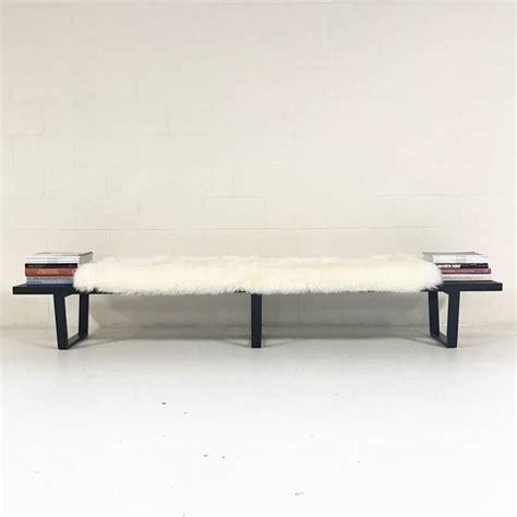 nelson bench cushion george nelson for herman miller slat bench model 4693