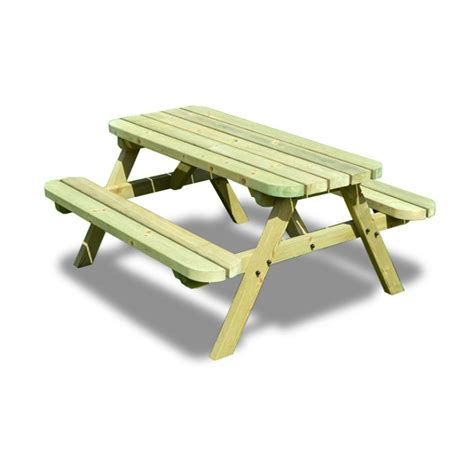 stansport heavy duty picnic table and bench set picnic table and bench set 3ft children picnic table and