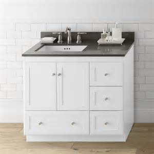modular 36 quot shaker bathroom vanity base wayfair