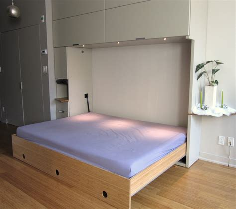 pull down bed modernly minimalist room with cool pull down bed ideas