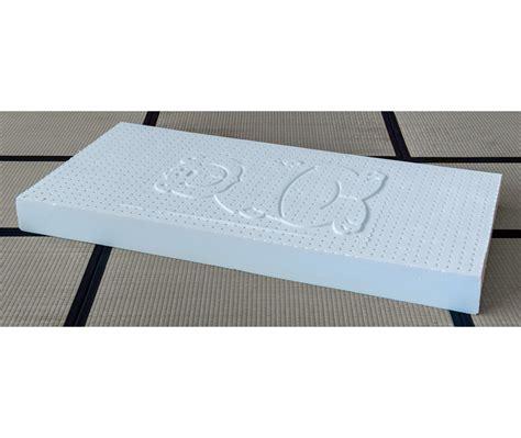 materasso per bambini materasso lattice 10 5 cm per bambini cotone vivere zen