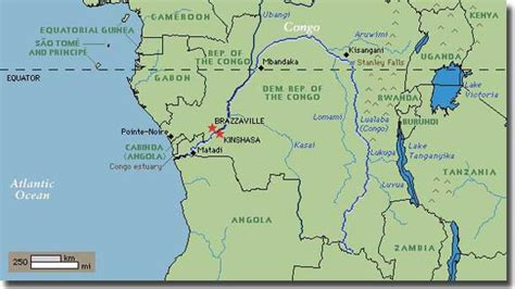 congo river map ahoy mac s web log the top ten rivers of the world