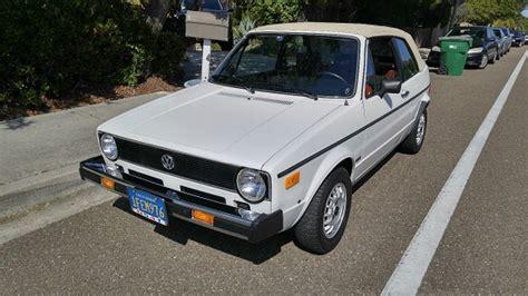 1982 Volkswagen Rabbit Convertible by 1982 Volkswagen Rabbit Convertible With 8 000