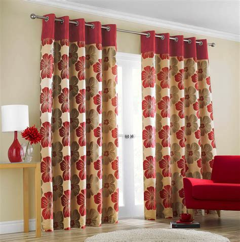 patterned red curtains red patterned curtain panels home design ideas