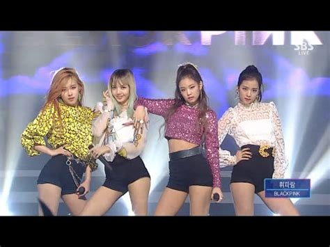 blackpink whistle live blackpink 휘파람 whistle 0821 sbs inkigayo black pink