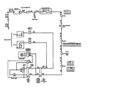 mitsubishi triton wiring diagram lights efcaviation
