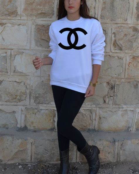 Coco Channel Rainbow Tshirt 1000 images about chanel clothes on seasons logos and s sweatshirts