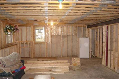 how to frame a basement and expand your home elliott