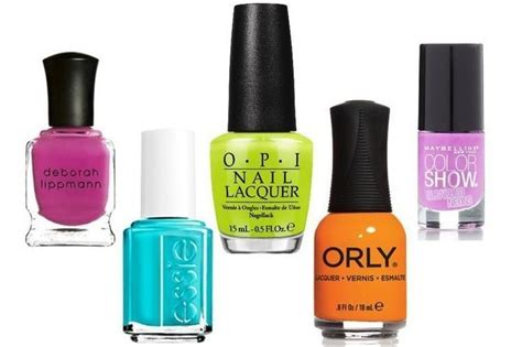 8 Nail Colours You Need For Right Now by Five Neon Nail Colors You Need To Try Right Now Nails