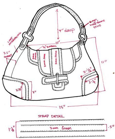 Tas Paula Satchel Tfkvdts1hc technical sketches paula bonnafant paula bonnafant design bags sketches and