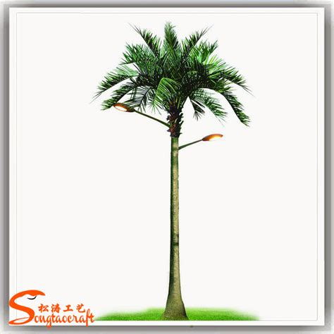 palm tree solar lights outdoor led tree solar tree lights coconut palm tree buy