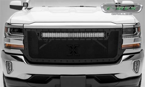 Led Light Bar Grill Chevrolet Silverado Stealth Torch Series 1 30 Quot Led Light Bar Top Formed Mesh Grille