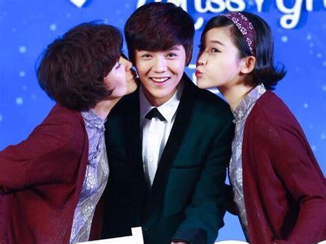 film yang dibintangi luhan exo wah luhan akan lakukan adegan ciuman pertamanya dalam