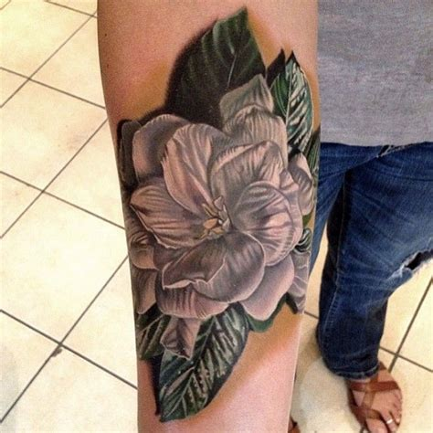 gardenia tattoo by phil garcia incredible ink pinterest