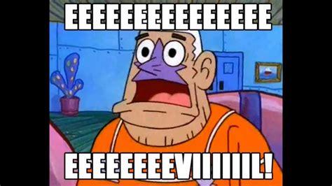 Evil Meme - evil spongebob