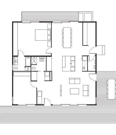 Handicap Accessible Modular Home Floor Plans by This Northern California Prefab Gets A Dose Of Universal