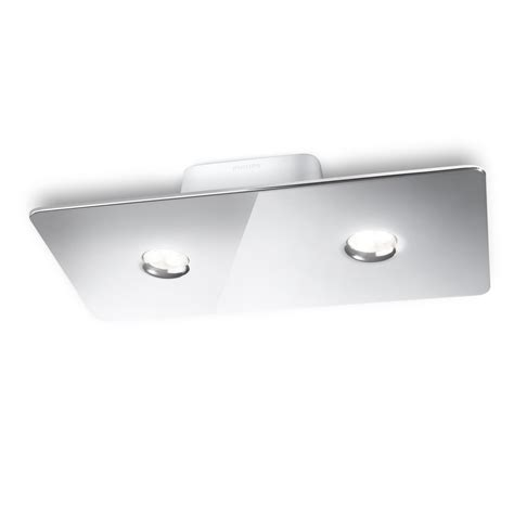 philips 31605 2 light ledino led semi flush ceiling light