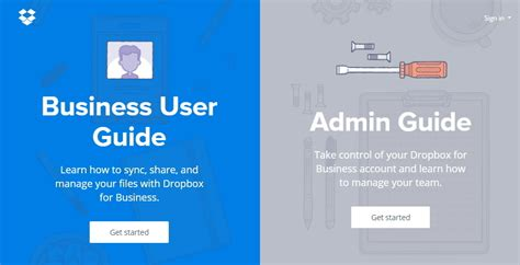 best user interface designs dropbox guide the webby awards