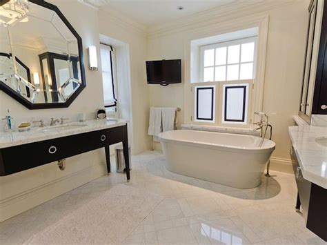 Octagon Mirror   Contemporary   bathroom   Pricey Pads