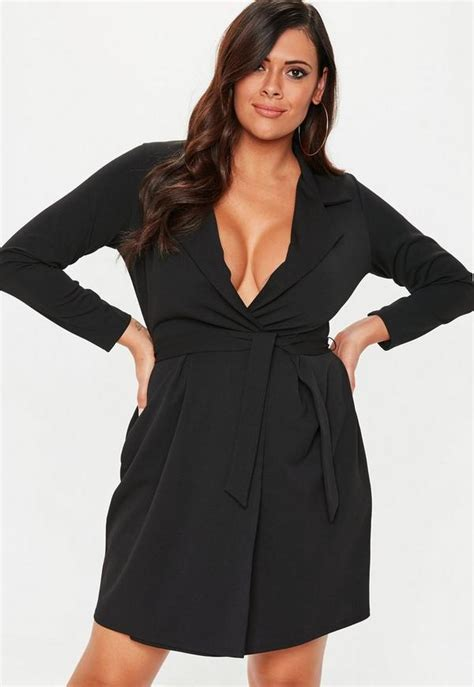 size black collar shift dress missguided