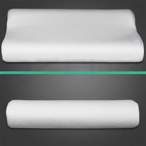 Visco Elastic Memory Foam 2 X Pack Deluxe Visco Elastic Memory Foam Contour Pillow