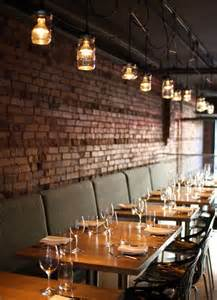 love the tables and historic exposed brick great atmosphere at l abattoir vancouver