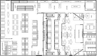 Restaurant Layout Templates by Free Restaurant Floor Plans Interior