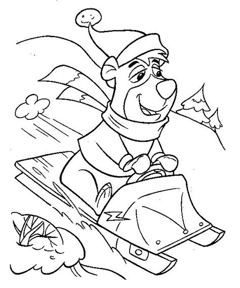 coloring pages yogi bear coloring page yogi bear coloring pages 0