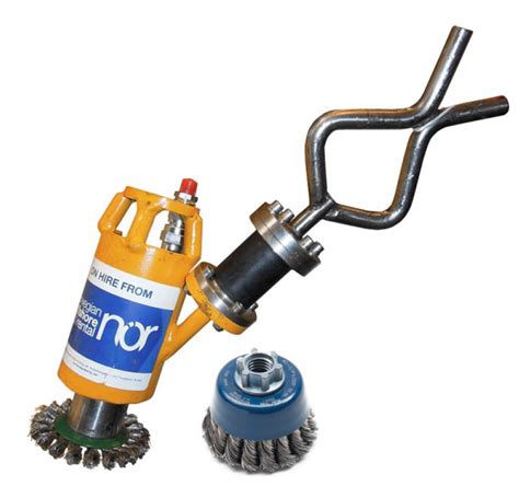 cleaning tool wire brush cleaning tool norwegian offshore rental