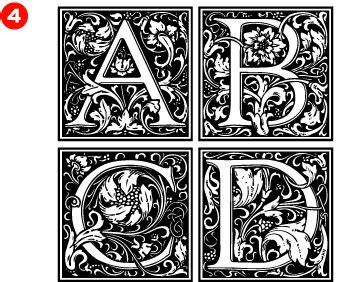 decorative initials font goudy s decorative initials for kevin pinterest