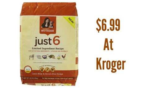 just 6 food rachael nutrish coupon 6 99 at kroger southern savers