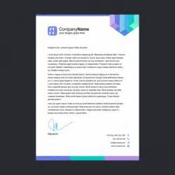 Letterhead Template by Multicolor Letterhead Template Vector Free