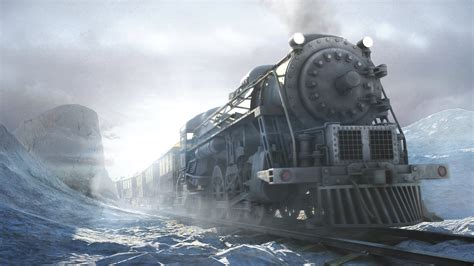 Piano Key Notes by Train Winter Siberia Siberia Game Hd Wallpaper