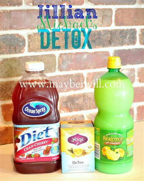 How Before Detox by How To Make Jillian Detox Water