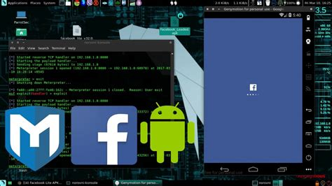 metasploit android injecting metasploit payload to android apps hacking android with persistance